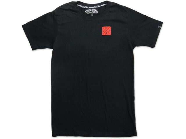 Loose Riders Rising Sun T-Shirt Men black/red